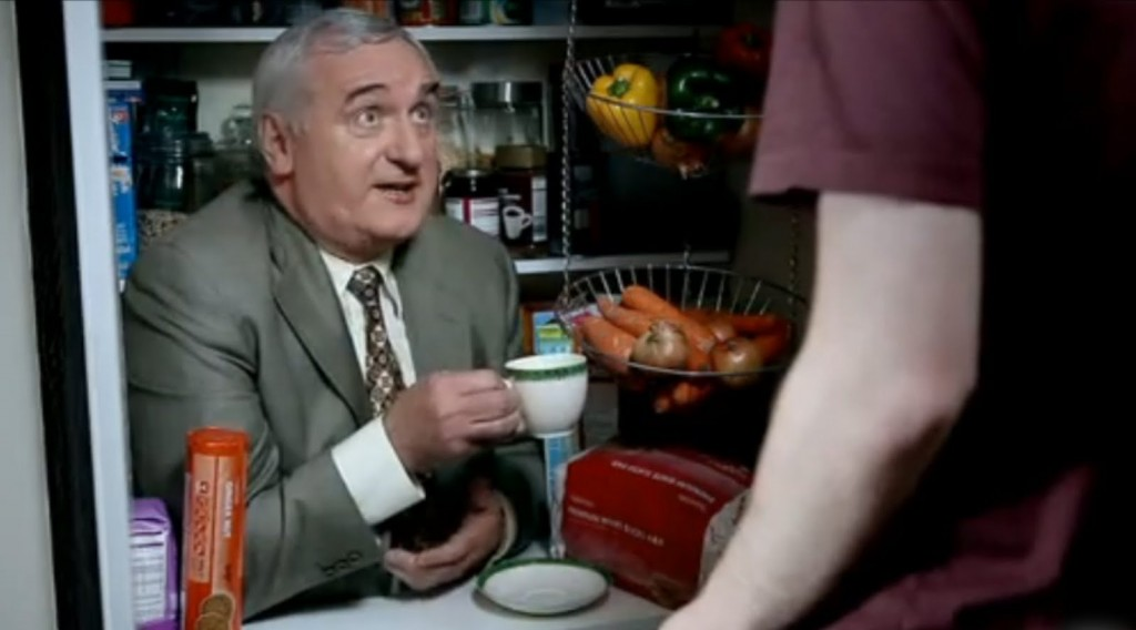 Bertie Ahern advert