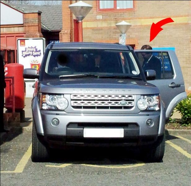 George Osborne Parking Prick2