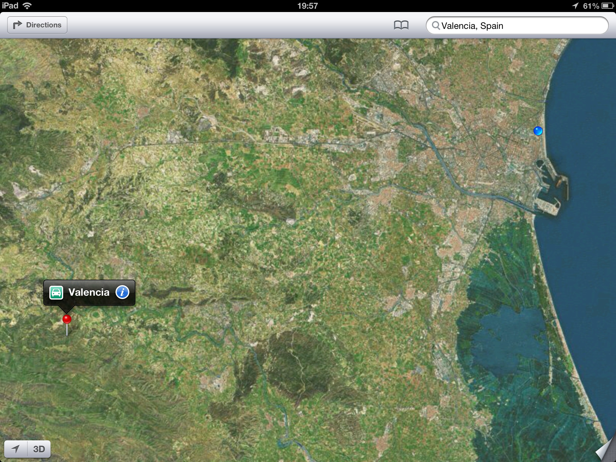 Apple Maps Valencia