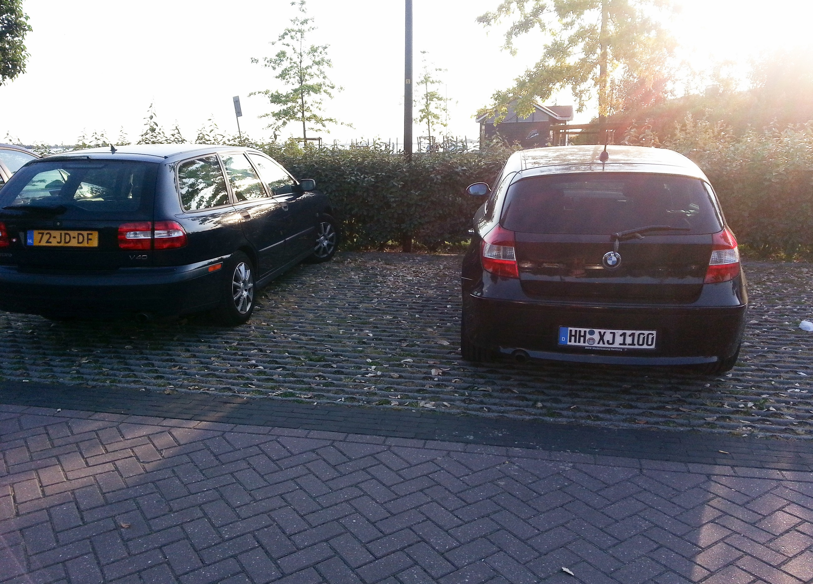 Parking Prick Germans