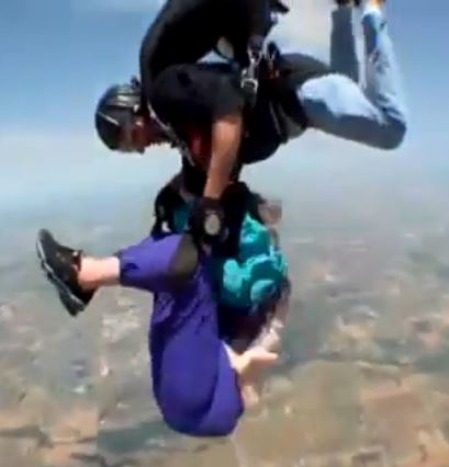 Skydive Fail