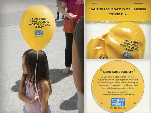 Science World - Fart Learning