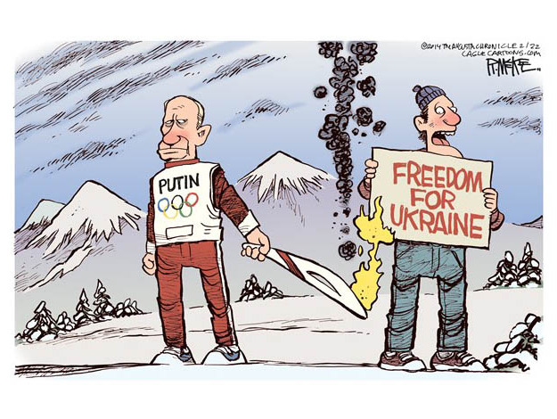 Ukraine Russia Cartoon