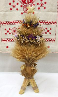 Traditional Ukrainian didukh