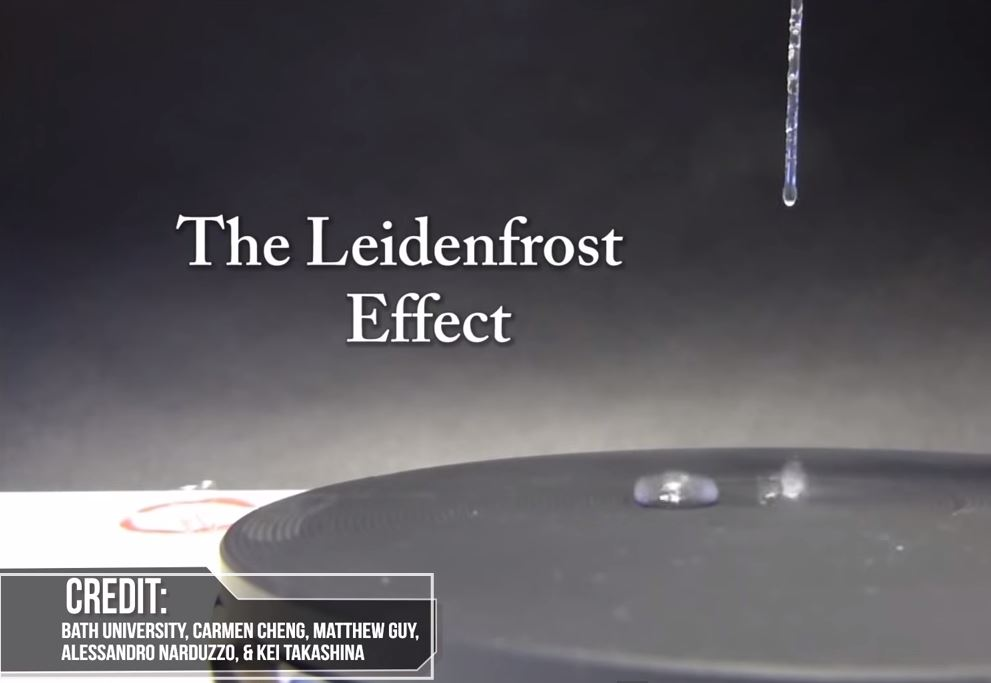 Science Saturday - Leidenfrost Effect