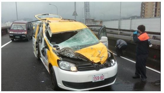 Taiwan Crash Car