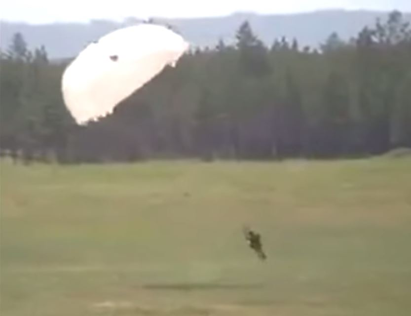 Russian Parachute Fail